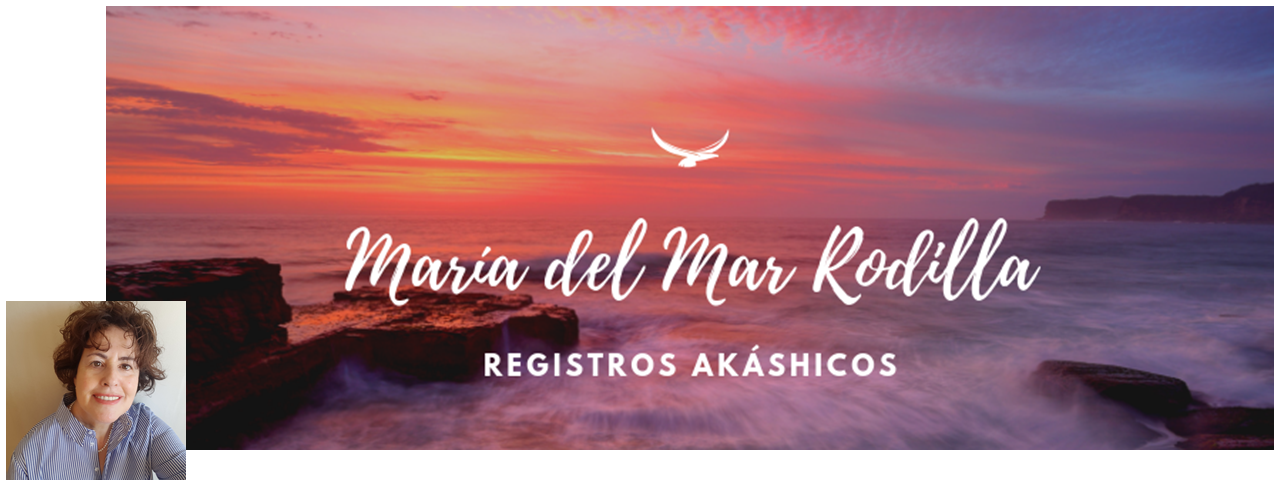María del Mar Rodilla Registros Akáshicos banner + logo